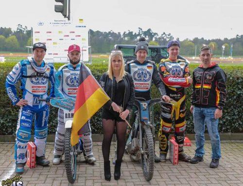 Rheinpfalz:   Deutsches Speedwayteam gewinnt Saisoneröffnung in Herxheim