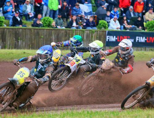 Sandbahnrennen Herxheim um WM-Punkte und den ADAC Goldhelm
